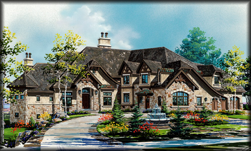 Traditional House Plans from HomePlanscom